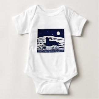 Mr Hare Baby Bodysuit