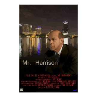 Mr Harrison Poster