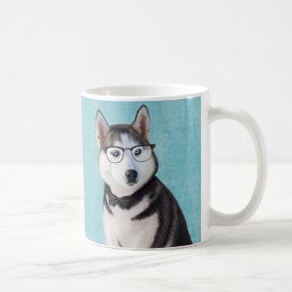 Mr Husky Basic White Mug