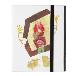 Mr Inside Out Man I-Pad 2/3/4 iPad Folio Case