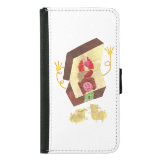 Mr Inside Out Man Samsung Galaxy S5 Wallet