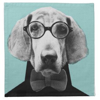 Mr Italian Bloodhound Napkin