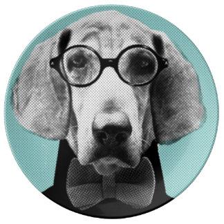 Mr Italian Bloodhound Plate