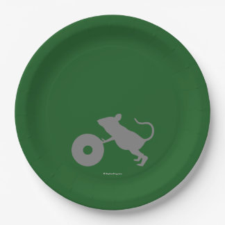 Mr. Jingles from Green Mile 9 Inch Paper Plate