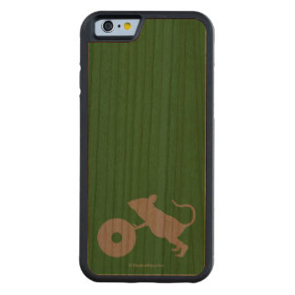 Mr. Jingles from Green Mile Carved Cherry iPhone 6 Bumper Case