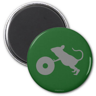 Mr. Jingles from Green Mile 6 Cm Round Magnet