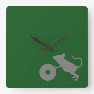 Mr. Jingles from Green Mile Square Wall Clock