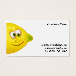 Mr Lemon Business Card