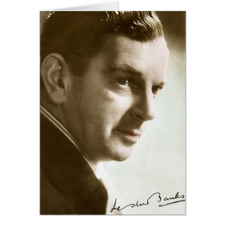 Mr Leslie Banks Card