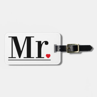 Mr Luggage Tag