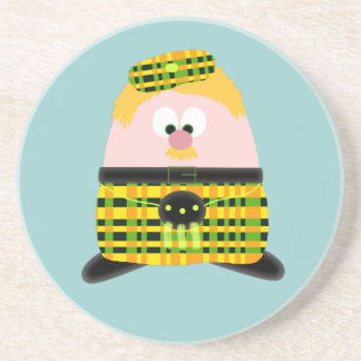 Mr Mac Haggis Coaster