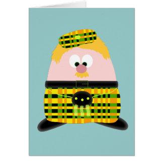 Mr Mac Haggis Greeting Card