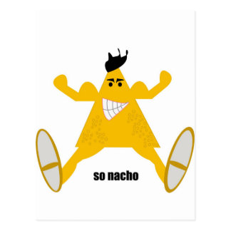 Mr Macho Nacho Postcard