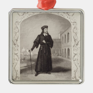 Mr Macready as Shylock, Act I Scene 3, in 'The Mer Christmas Ornament