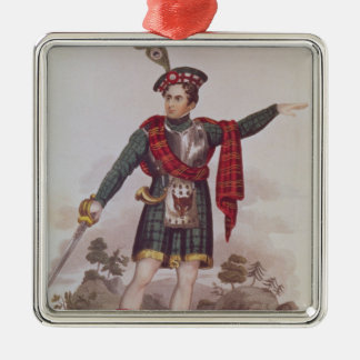 Mr. Macready in the role of Rob Roy Macgregor Christmas Ornament