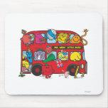 Mr Men & Little Miss Bus Mouse Pads