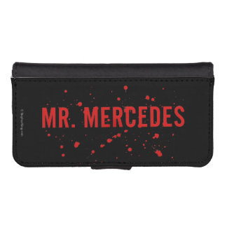 Mr. Mercedes Logo iPhone SE/5/5s Wallet Case