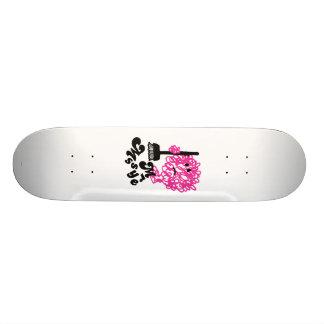 Mr. Messy | Broom & Name 19.7 Cm Skateboard Deck