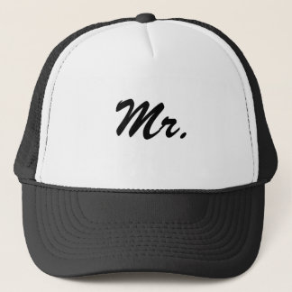 Mr./Mister/Honeymoon Trucker Hat
