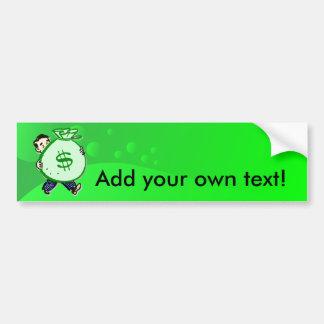 Mr. Moneybags Bumper Sticker