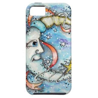 Mr Moon Design iPhone 5 Case