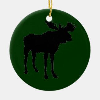 Mr. Moose Christmas Ornament