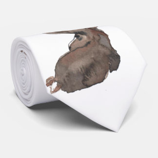 Mr. Moose Has an Eye on You Tie