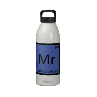 Mr - Motorcycle Racing Sports Chemistry Symbol Reusable Water Bottles