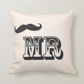 Mr Moustache Cushion