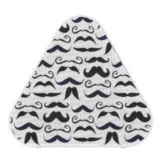 Mr. Moustache Hipster Pattern Speaker