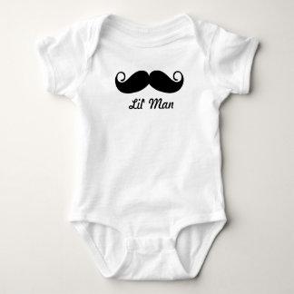 Mr. Moustache Hipster Pattern Tee Shirt