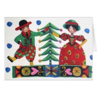 Mr. & Mrs. Christmas Card