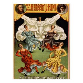 Mr & Mrs Herbert L. Flint Postcard