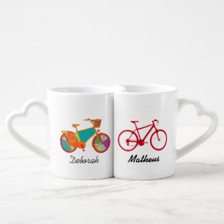 mr mrs his her bicycles lovers mug