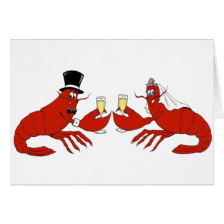 Mr. & Mrs. Lobster Card