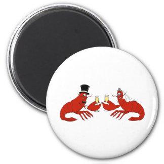 Mr. & Mrs. Lobster Magnet