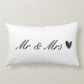 Mr & Mrs Lumbar Cushion