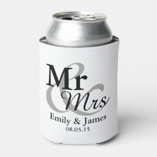 Mr&Mrs Simple Elegant Typography Wedding Favor