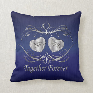 Mr & Mrs Together Forever | Personalize Cushion
