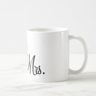 Mr. & Mrs. Unique Items Coffee Mug