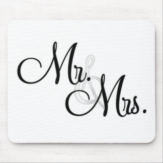 Mr. & Mrs. Unique Items Mouse Pad