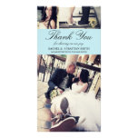 MR & MRS   WEDDING THANK YOU CARD PERSONALISED PHOTO CARD
