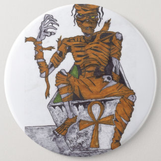 Mr. Mummy 6 Cm Round Badge