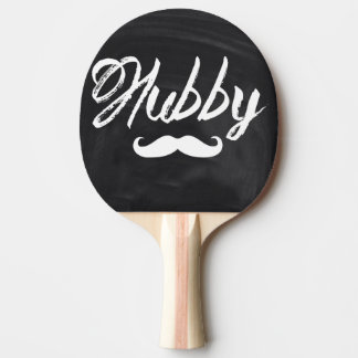 Mr Mustache Groom Honeymoon hubby Ping Pong Paddle