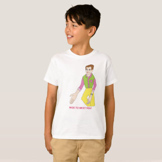 Mr. Nice To Meet You T-Shirt for Kids