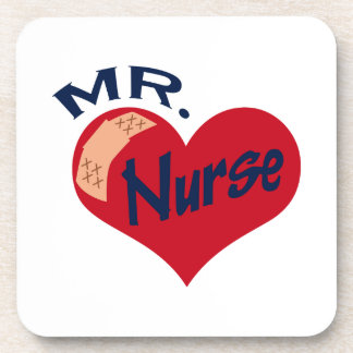 Mr. Nurse Drink Coasters