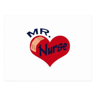 Mr. Nurse Postcard