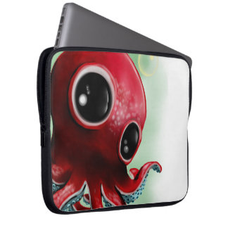 Mr Octopus Laptop Sleeve