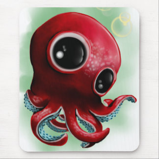 Mr Octopus Mouse Pad