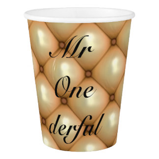 Mr One-derful Party Cups